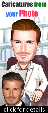 caricatures from photo