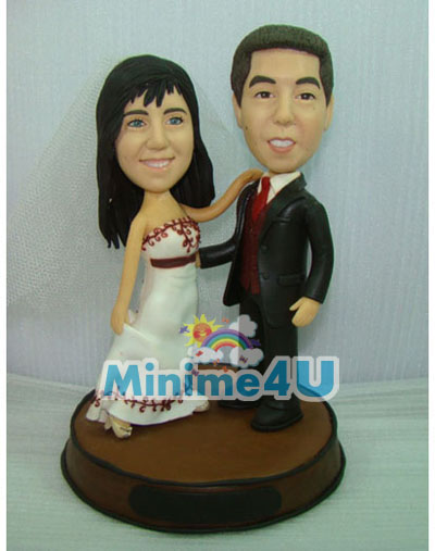 Dancing couple minime doll
