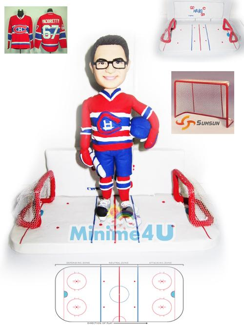hockey player figure